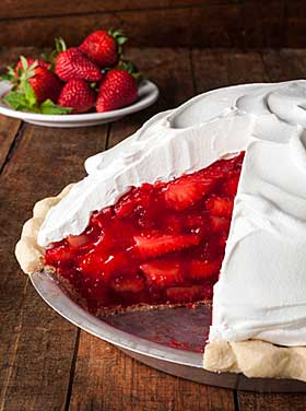 Strawberry pie is in season!