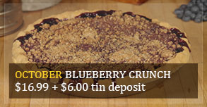 Blueberry Crunch