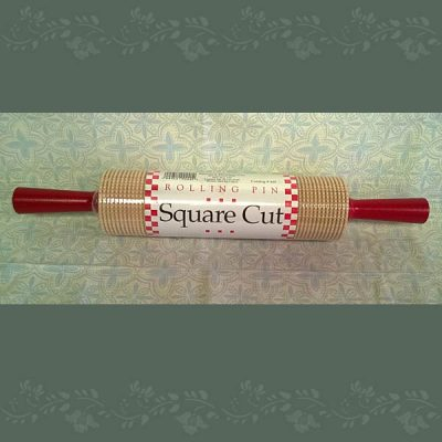 Hardwood Rolling Pin - Square Cut