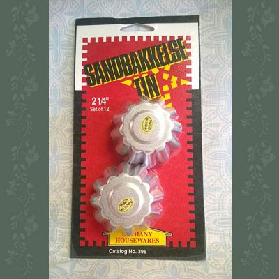 Sandbakkels Tins - 2 1/4 Inch