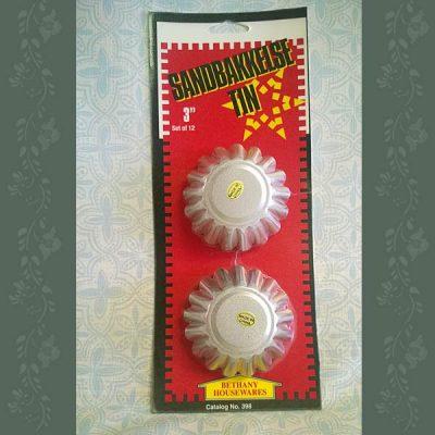 Sandbakkels Tins - 3 Inch