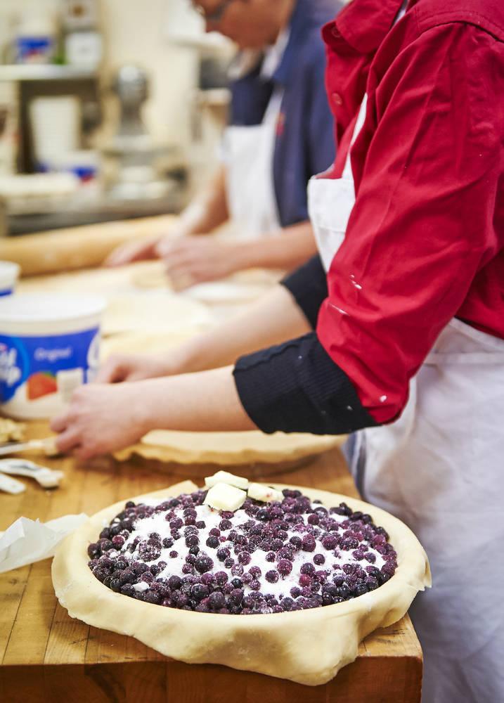 Making Norske Nook pies