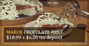 Chocolate Pie of the Month - Norske Nook